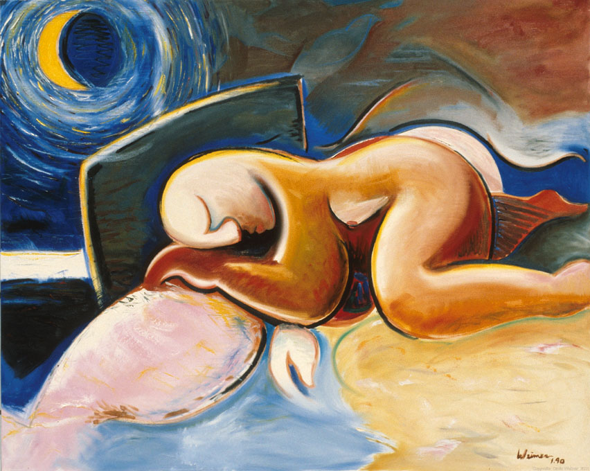 Dreams 48.5x39.5 oil on canvas