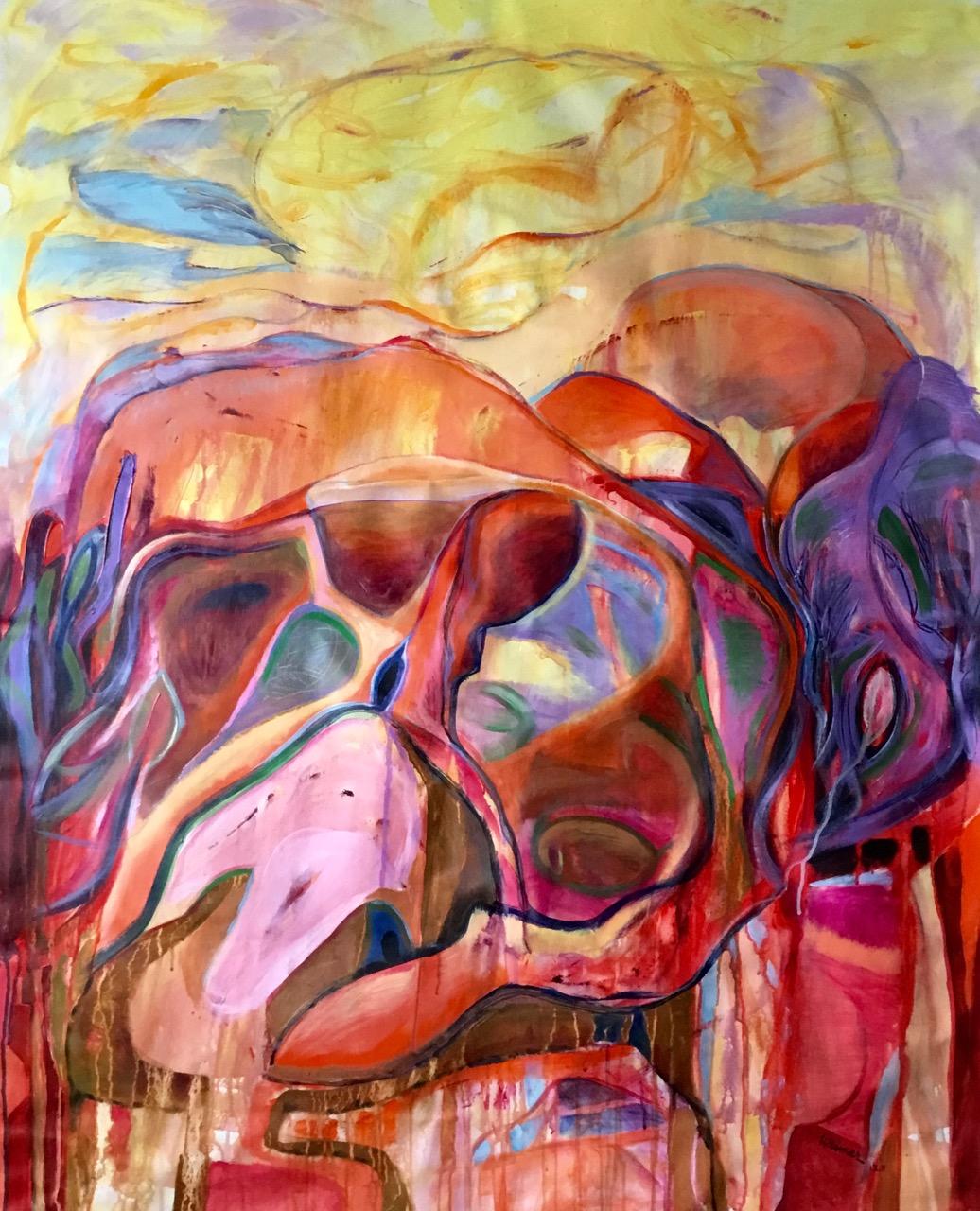 Morning Sun 41x50 acrylic on canvas